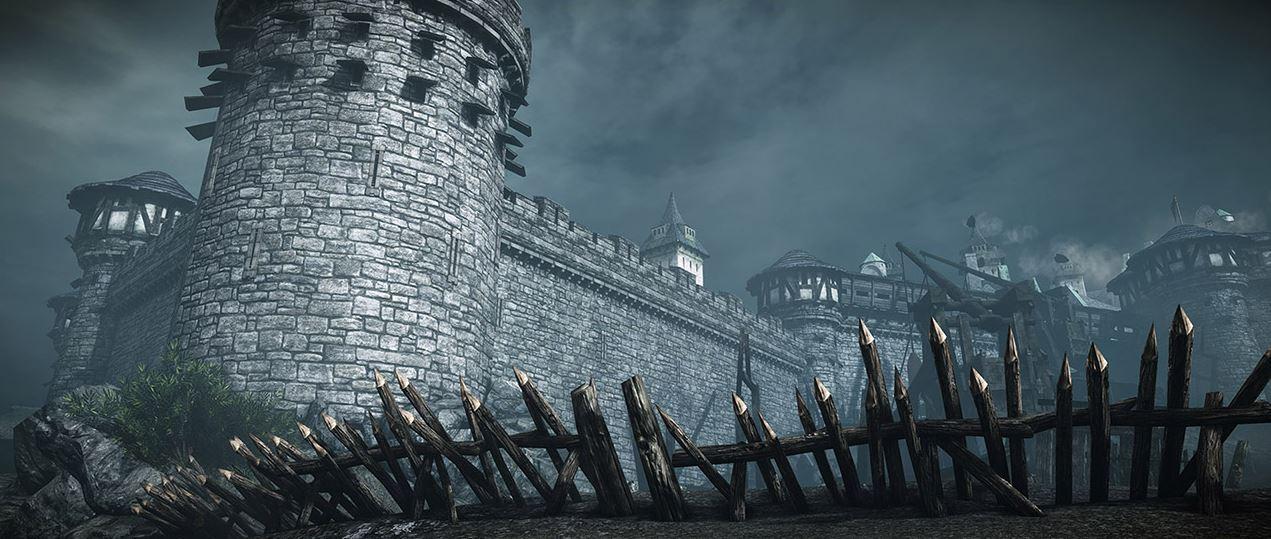 Chivalry Medieval Warfare Eine Belagerte Burg