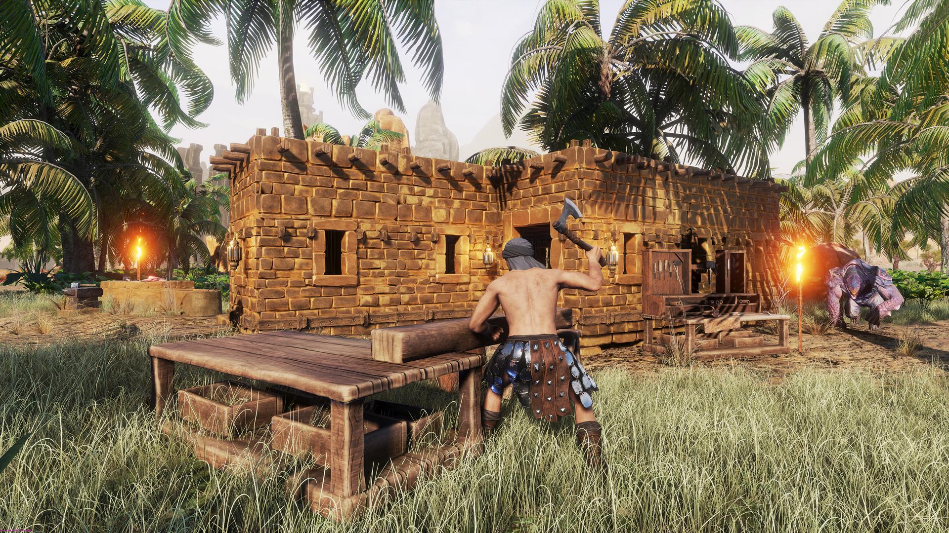 Conan Exiles - Crafting und Siedlungsbau
