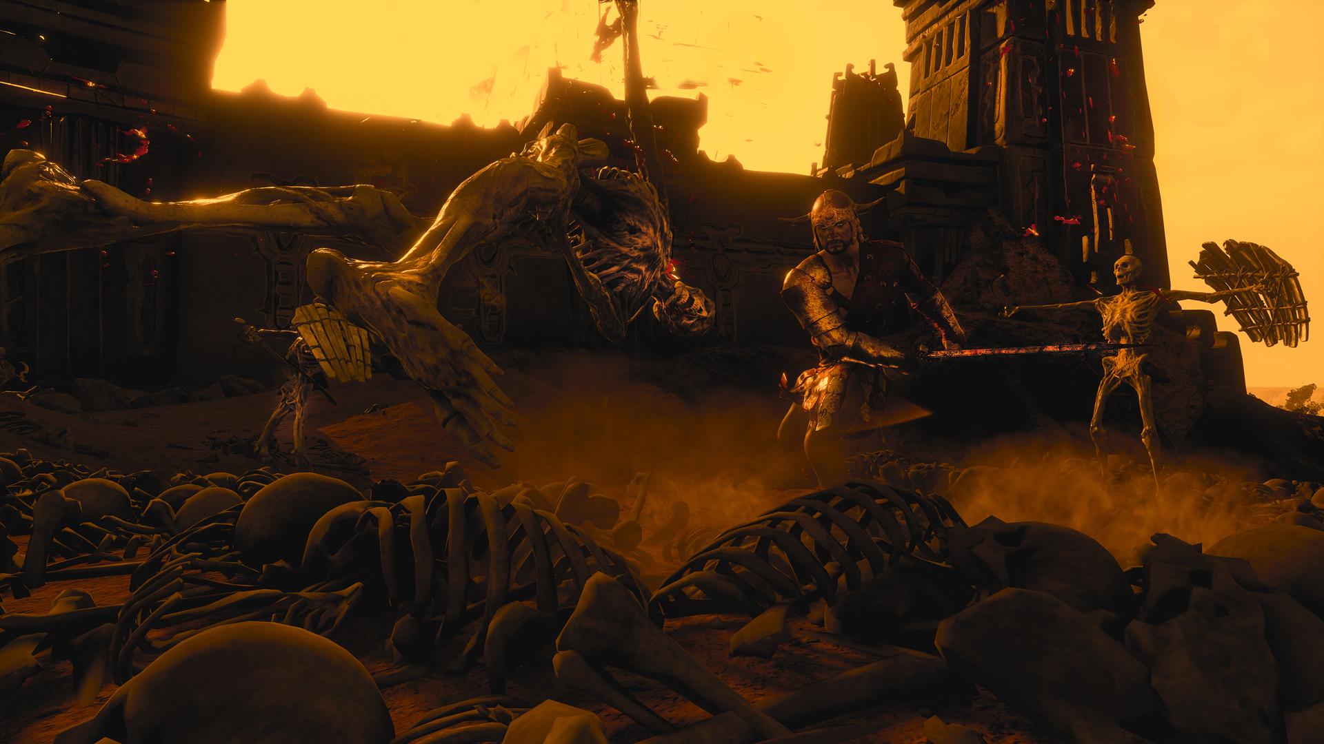 Conan Exiles - Kampf gegen Knochen