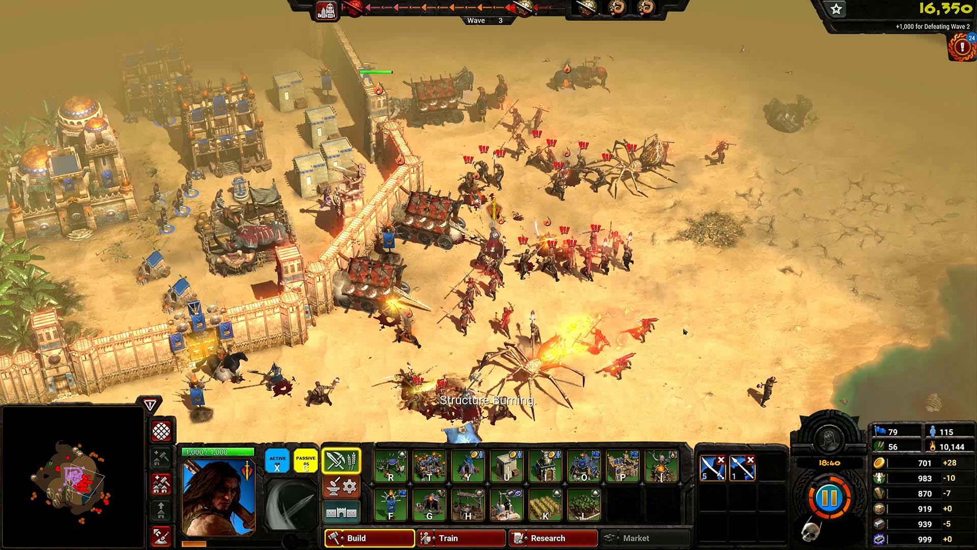 Conan-Unconquered-Monster-und-Soldaten-stürmen-die-Mauern