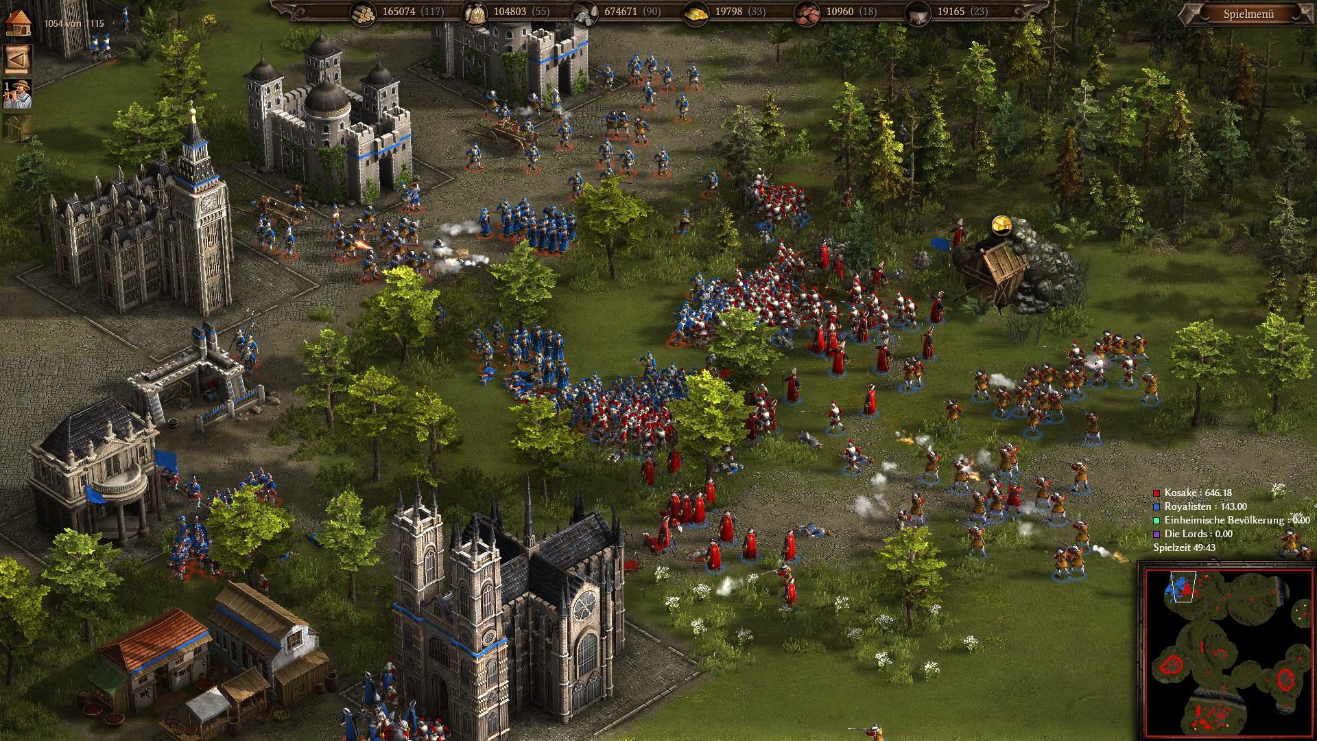 Cossacks 3 - Angriff auf eine Stadt