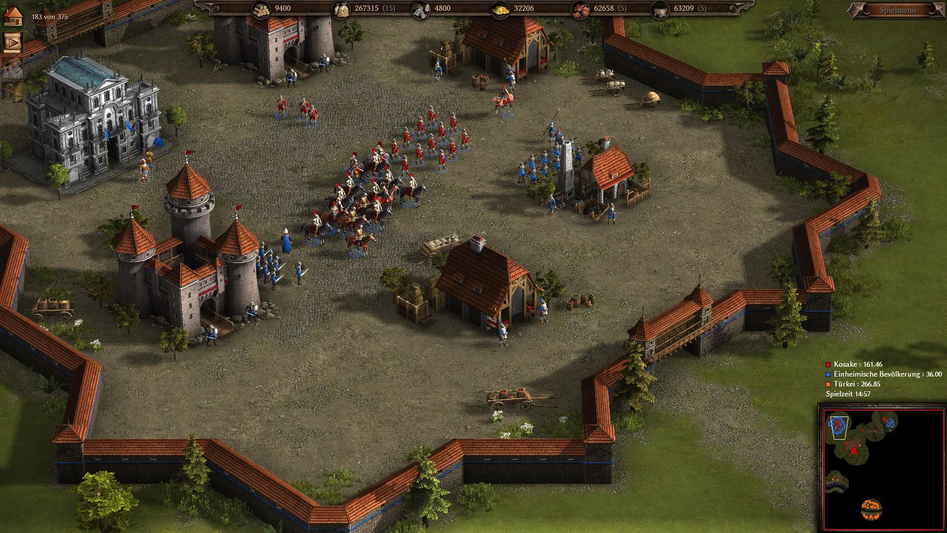 Cossacks 3 - Eine Festung