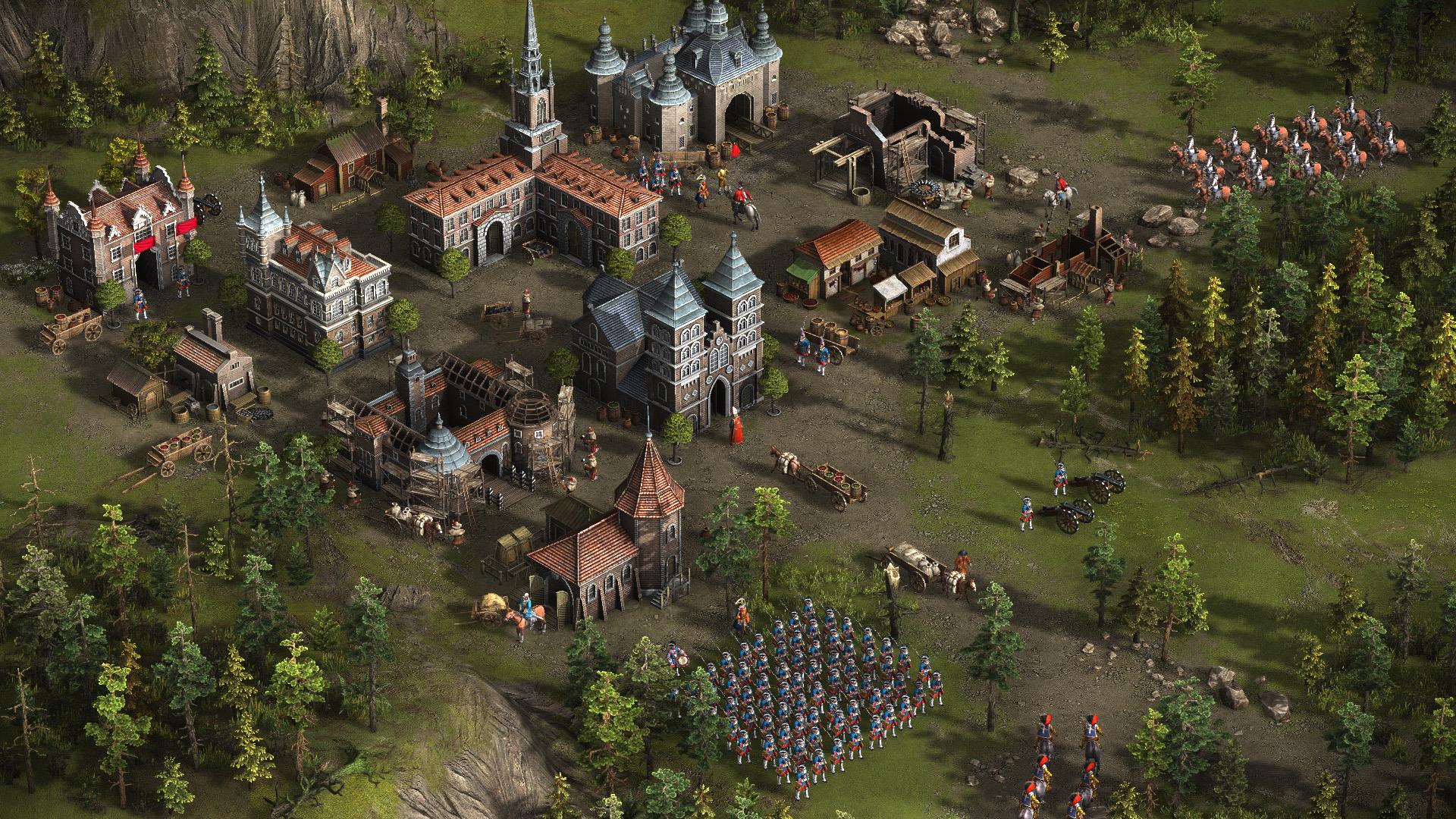 Cossacks 3 - Eine kleine Stadt