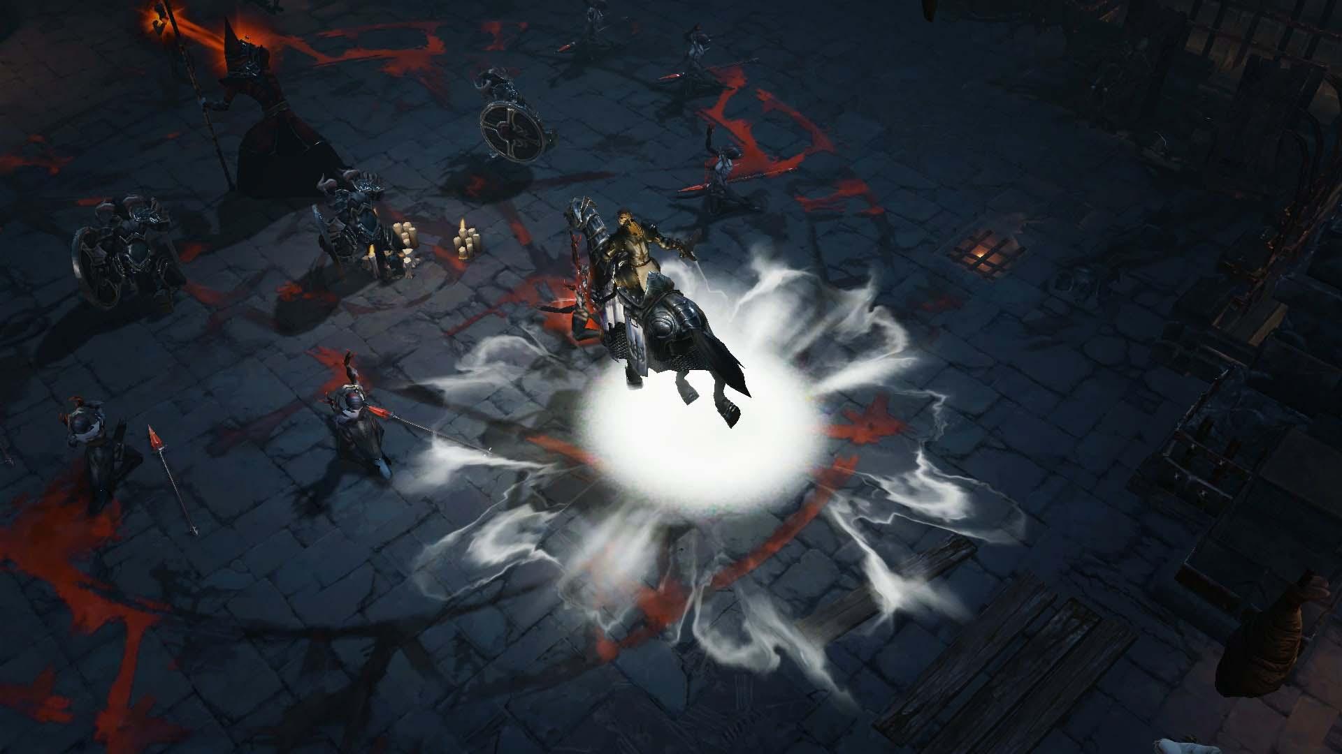 Diablo Immortal - Crusader Horse - Im Kampf