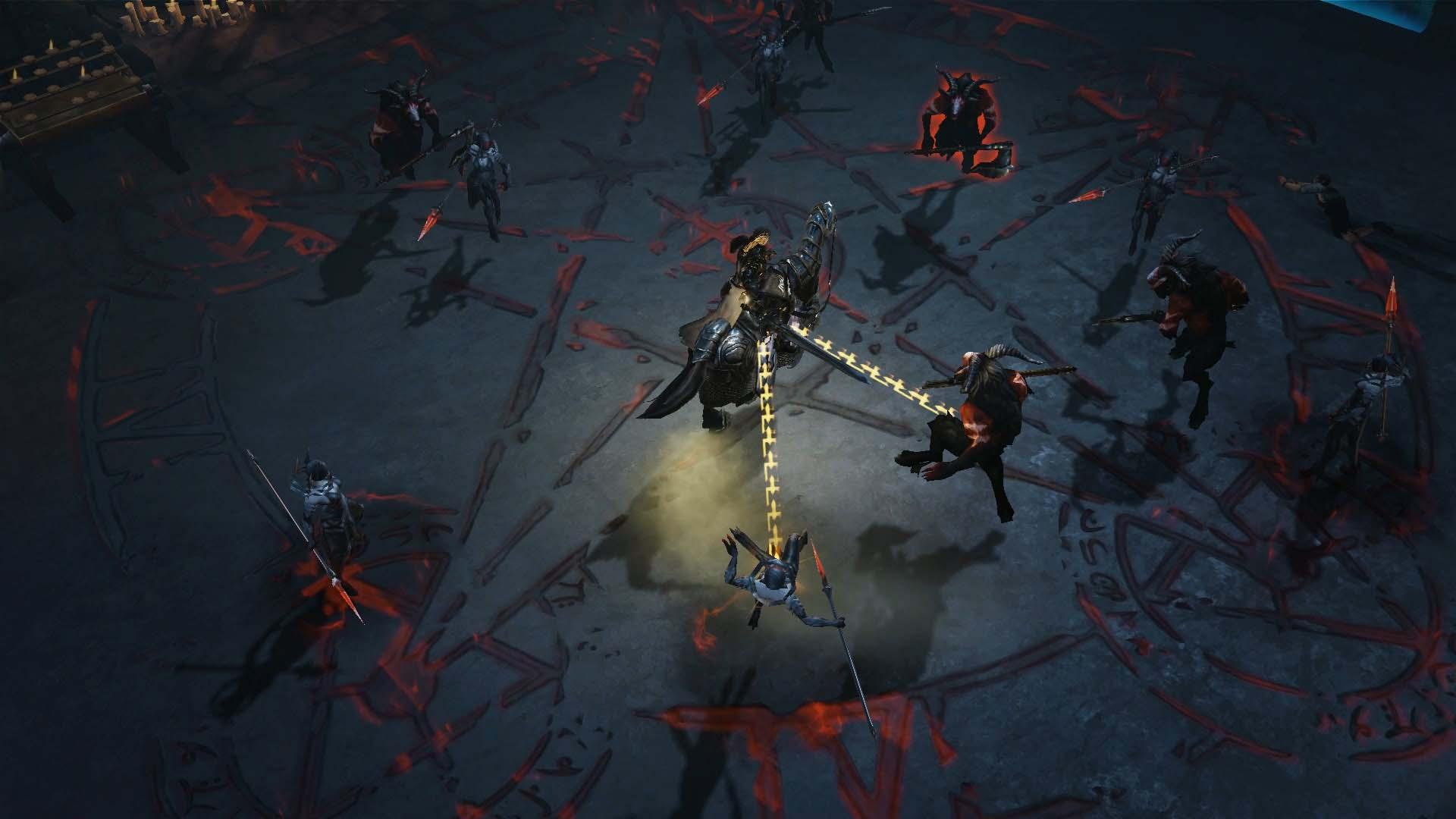 Diablo Immortal - Crusader im Kampf