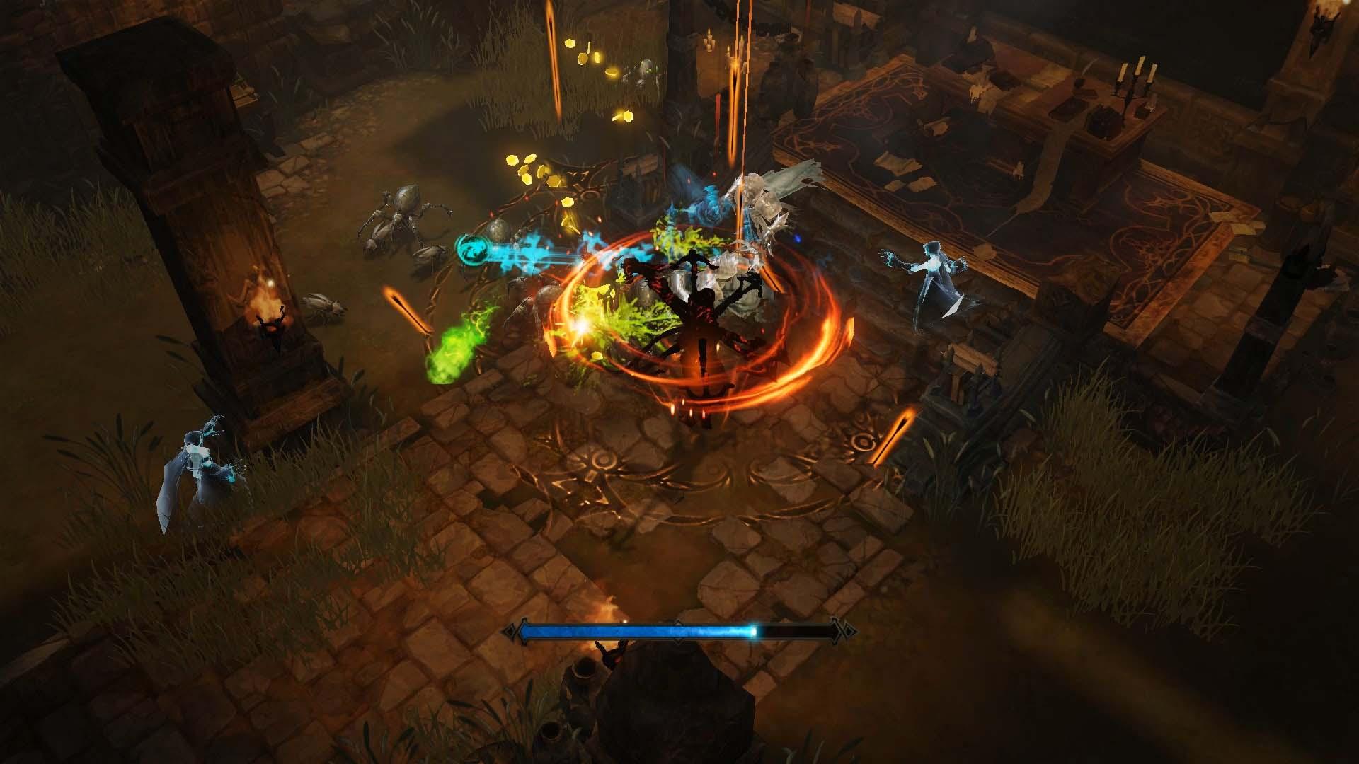 Diablo Immortal - Demon Hunter im Kampf