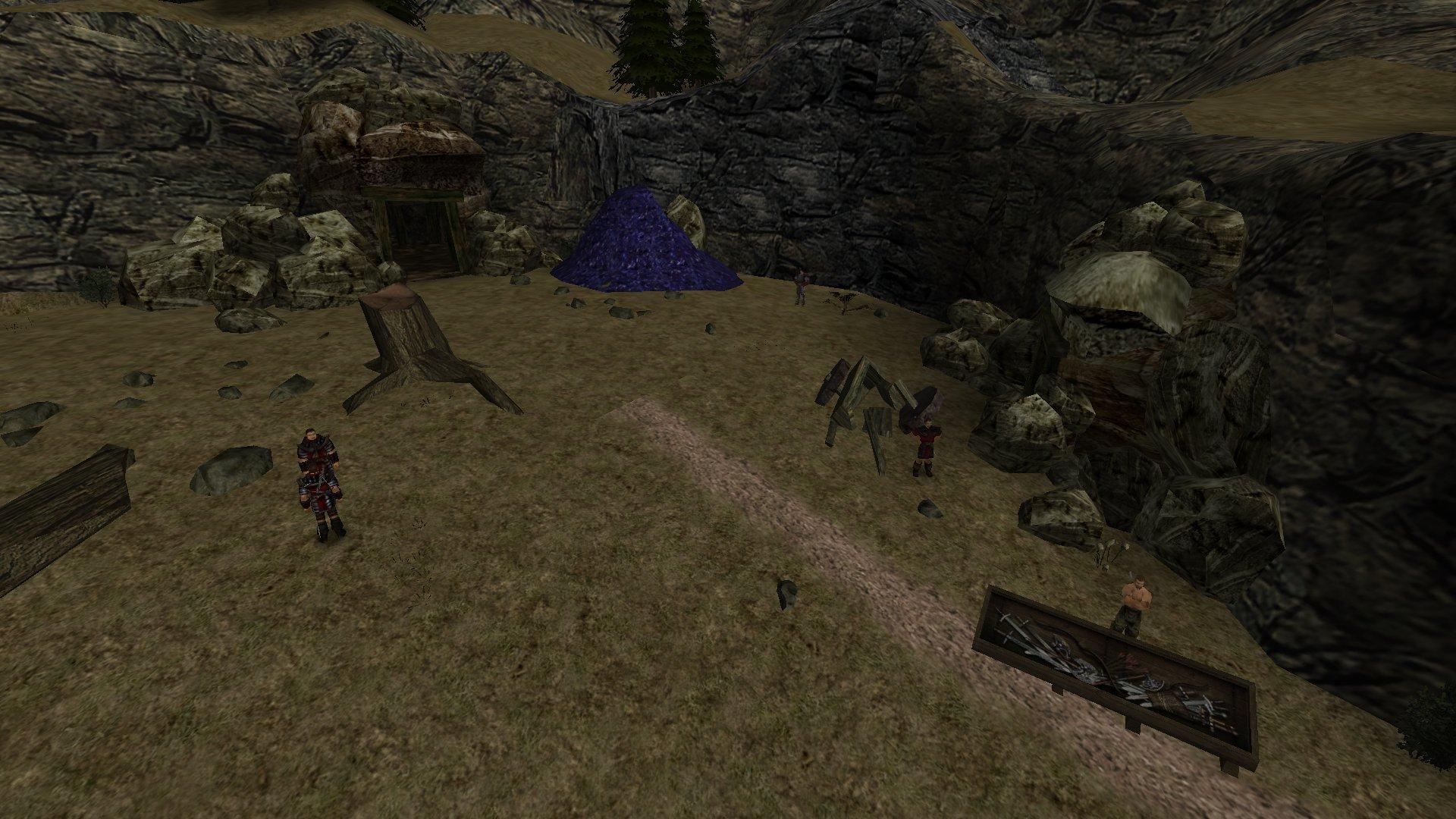 Gothic 2 Mod - Die Garde - Die Garde beim Erzhaufen