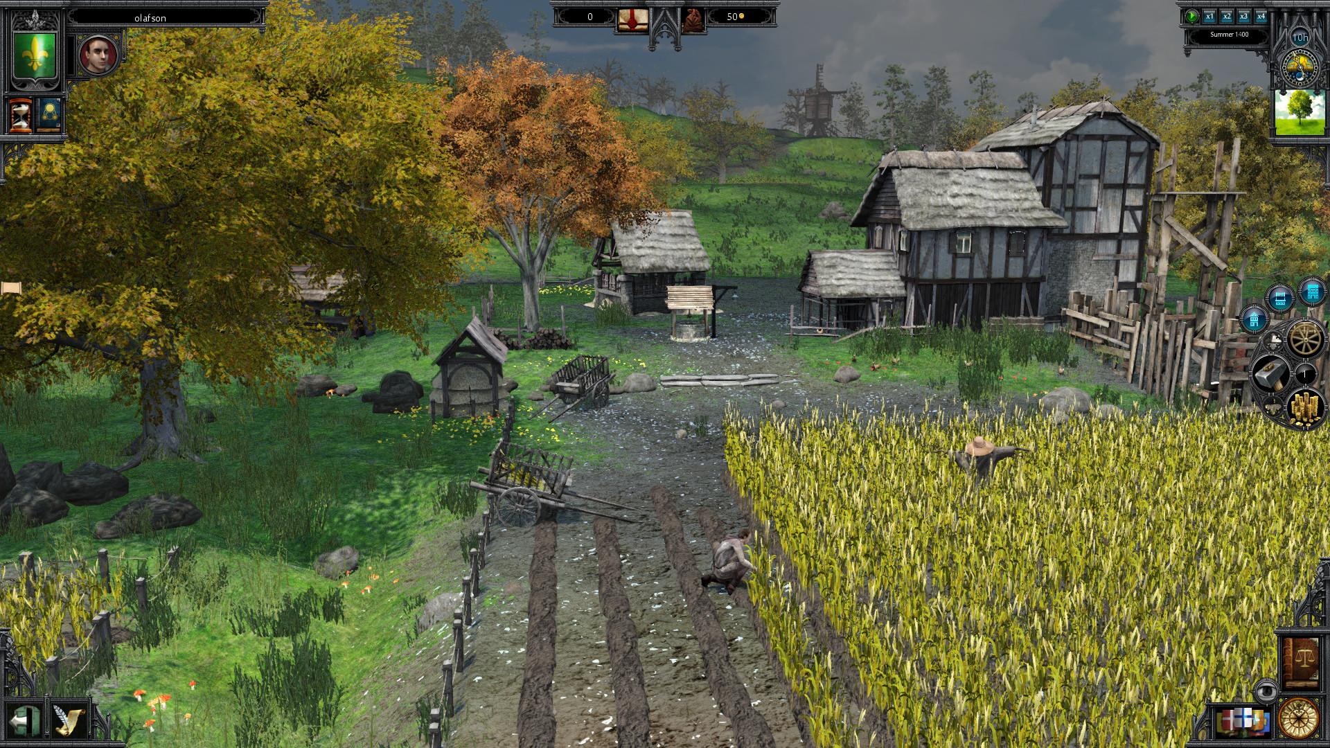 Die Gilde 3 - Early Access - Feld und Mühle