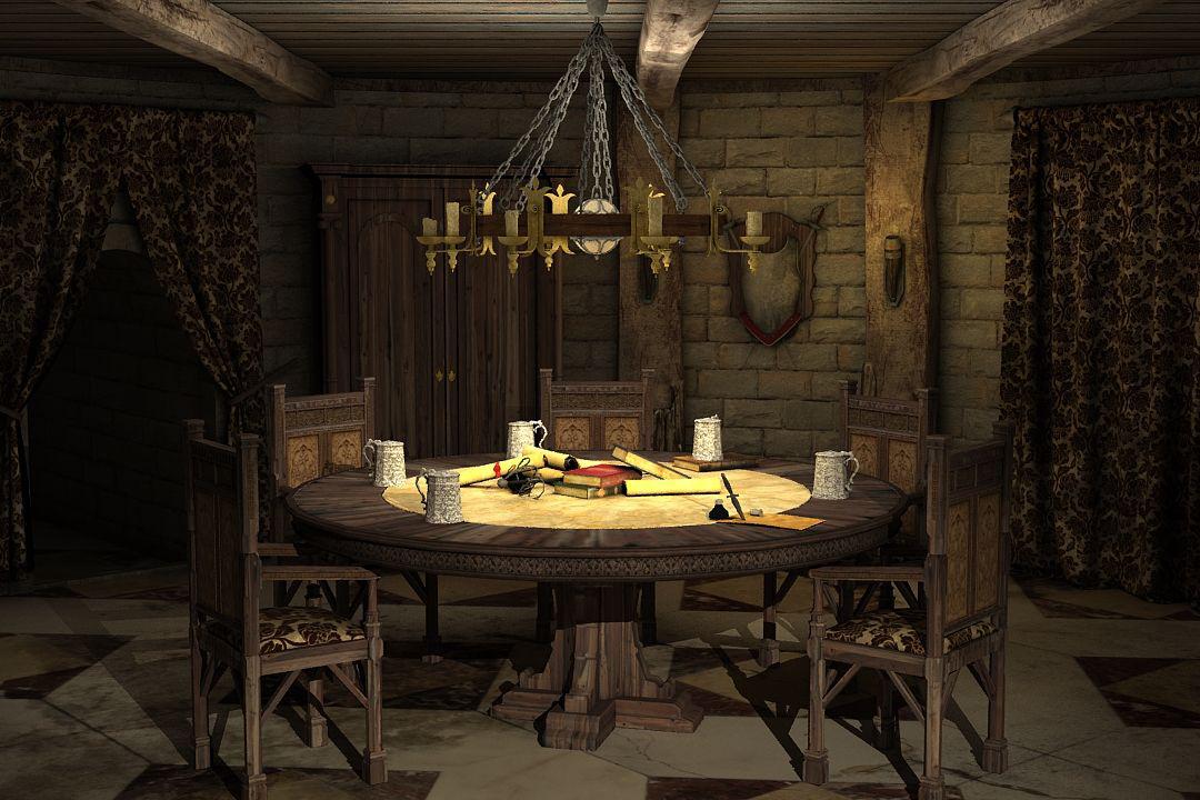 Die Gilde 3 - Ein Innenraum