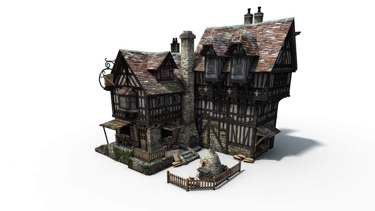 Die Gilde 3 - Ein Stadt Haus
