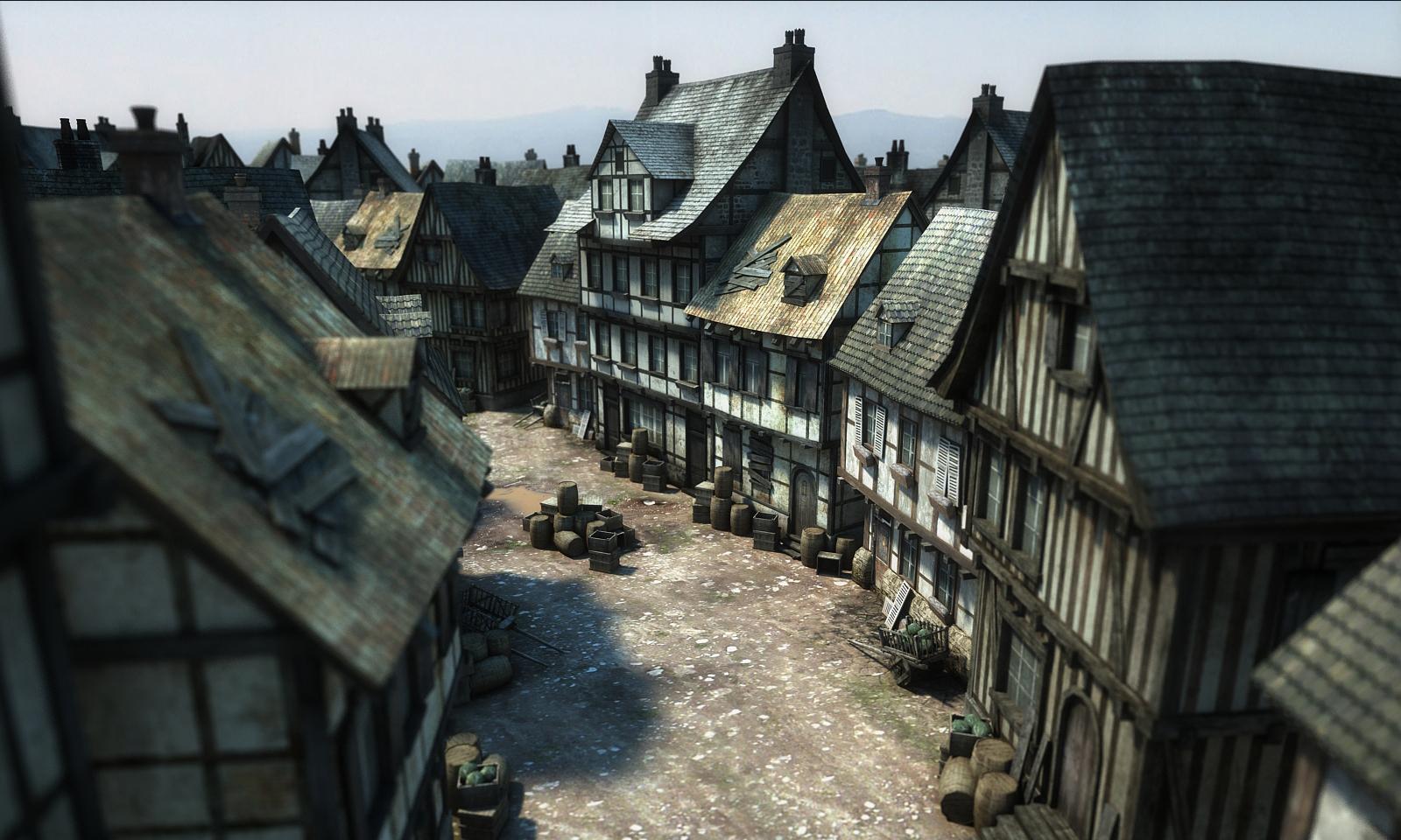 Die Gilde 3 -Eine Straße