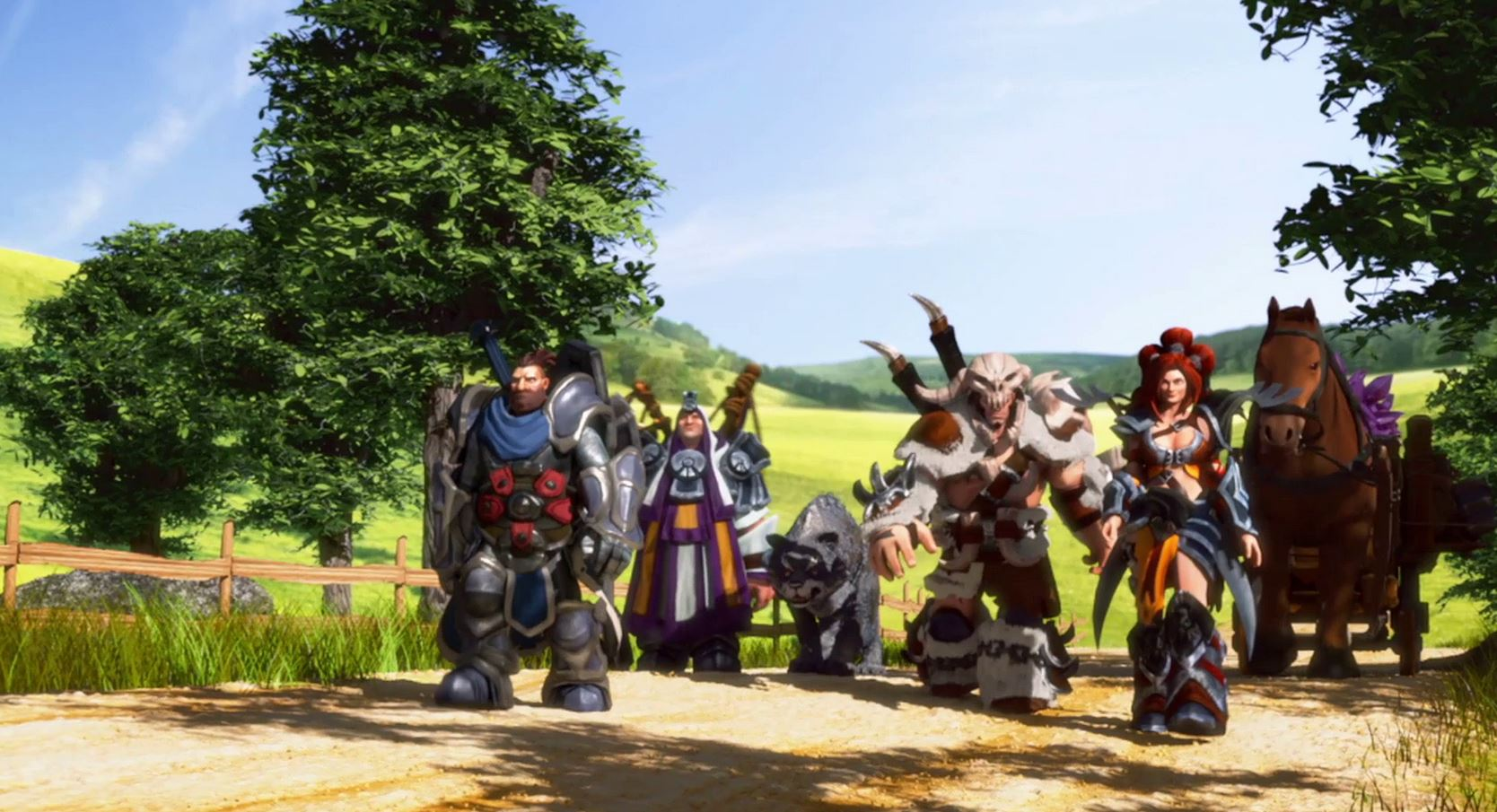 Die Siedler Königreiche von Anteria Helden auf Oger Jagd