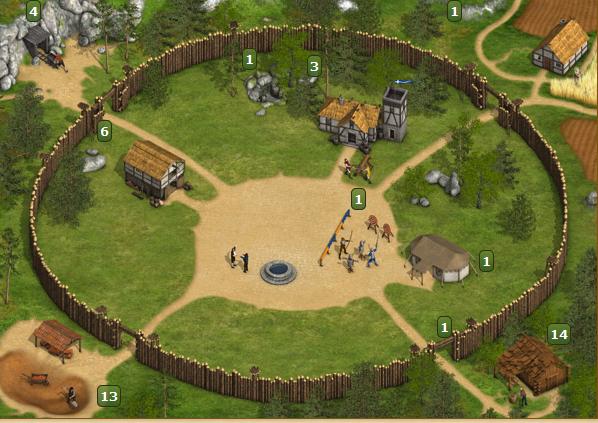 Die Staemme Dorf Stufe 1