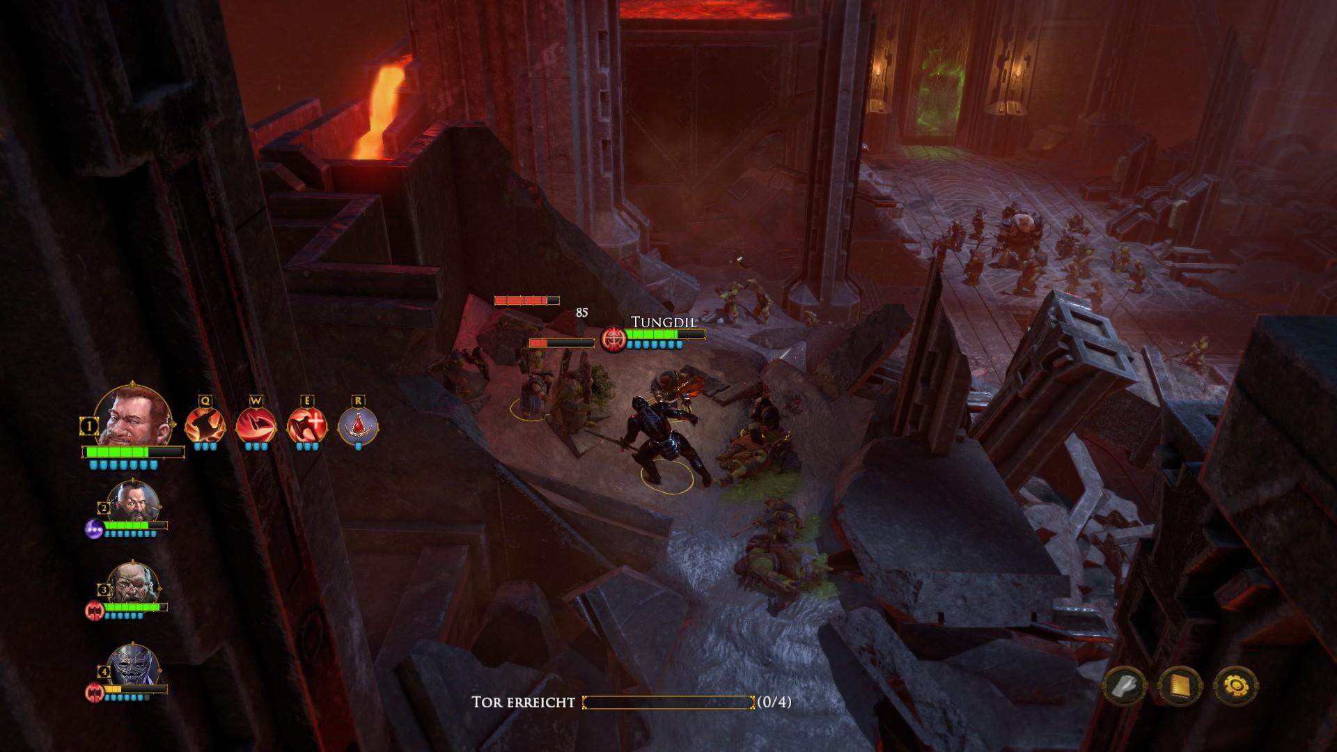 Die Zwerge - Djerun im Kampf