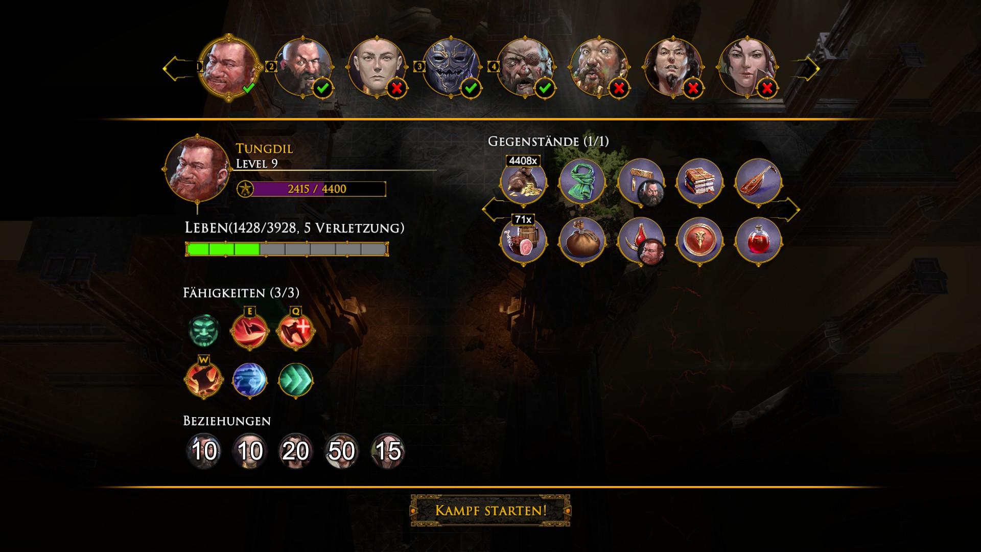 Die Zwerge - Helden Auswahl - Tungdil