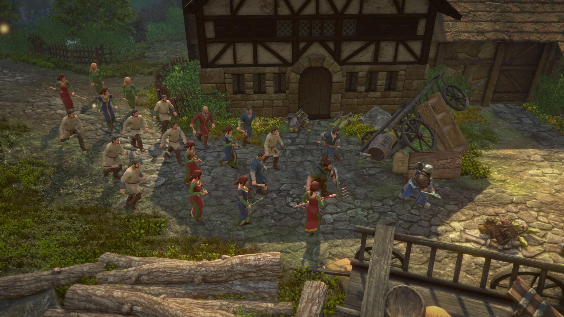 Die Zwerge - Mit Bauern gegen Orks