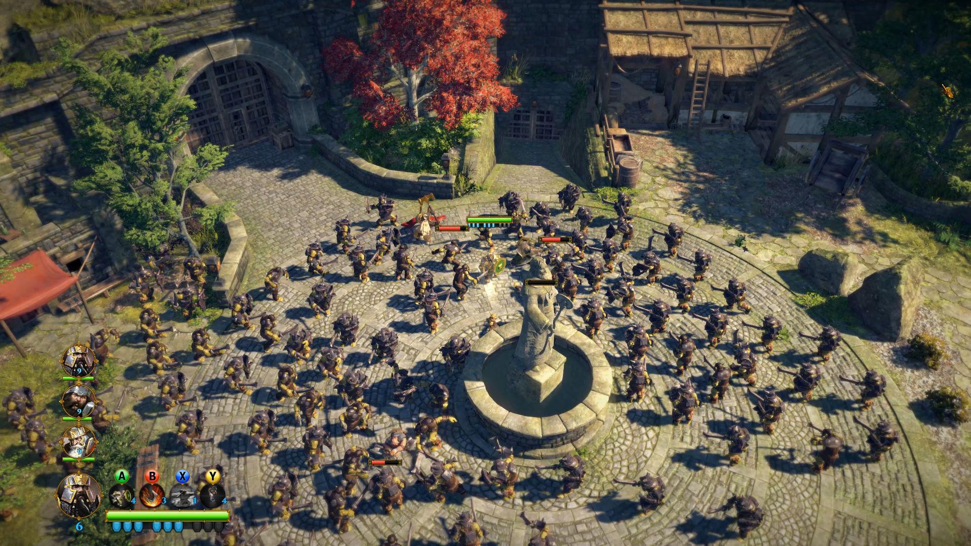 Die Zwerge - Schlacht an einem Brunnen