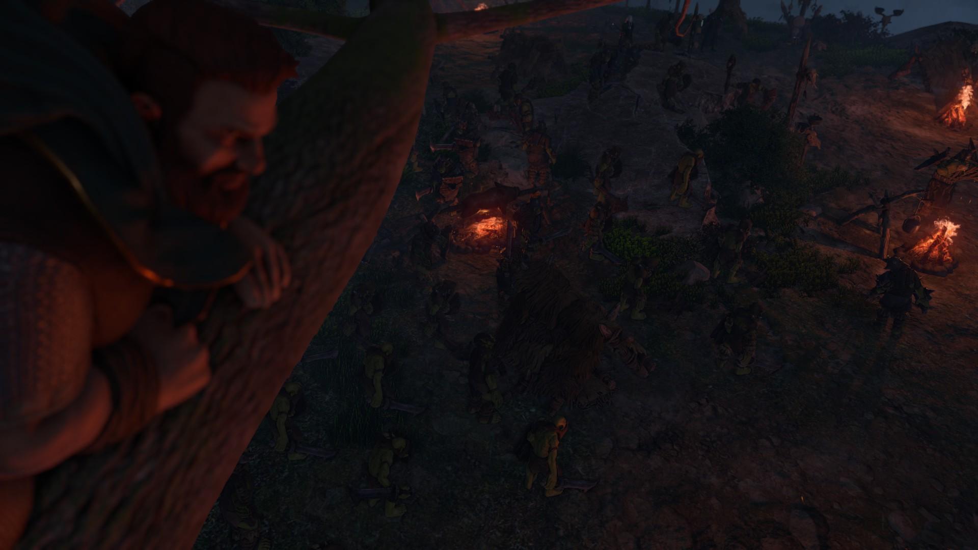 Die Zwerge - Tungdil auf Baum