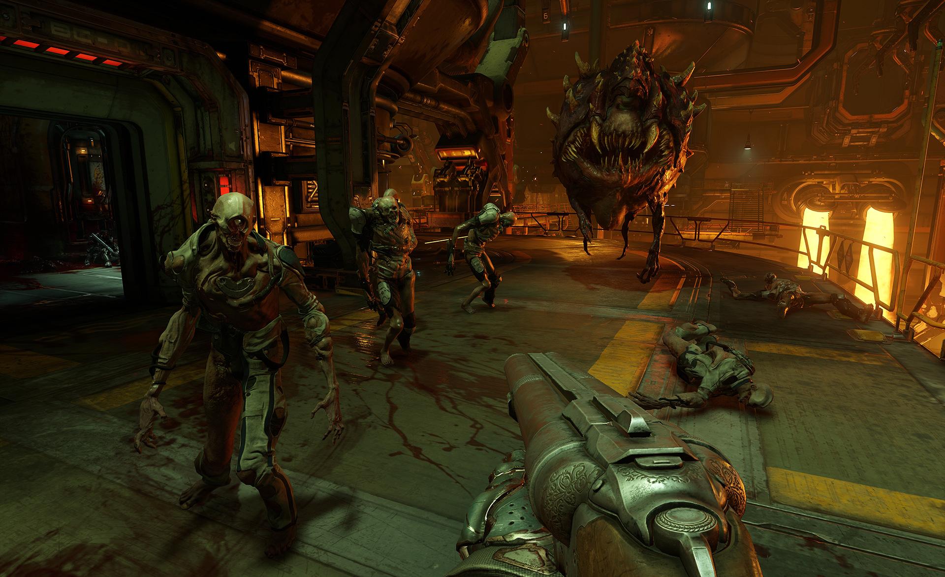 Doom - Mit der Doppelläufigen Schrotflinte