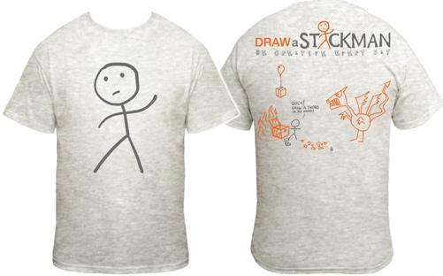 draw-a-stickman-t-shirt