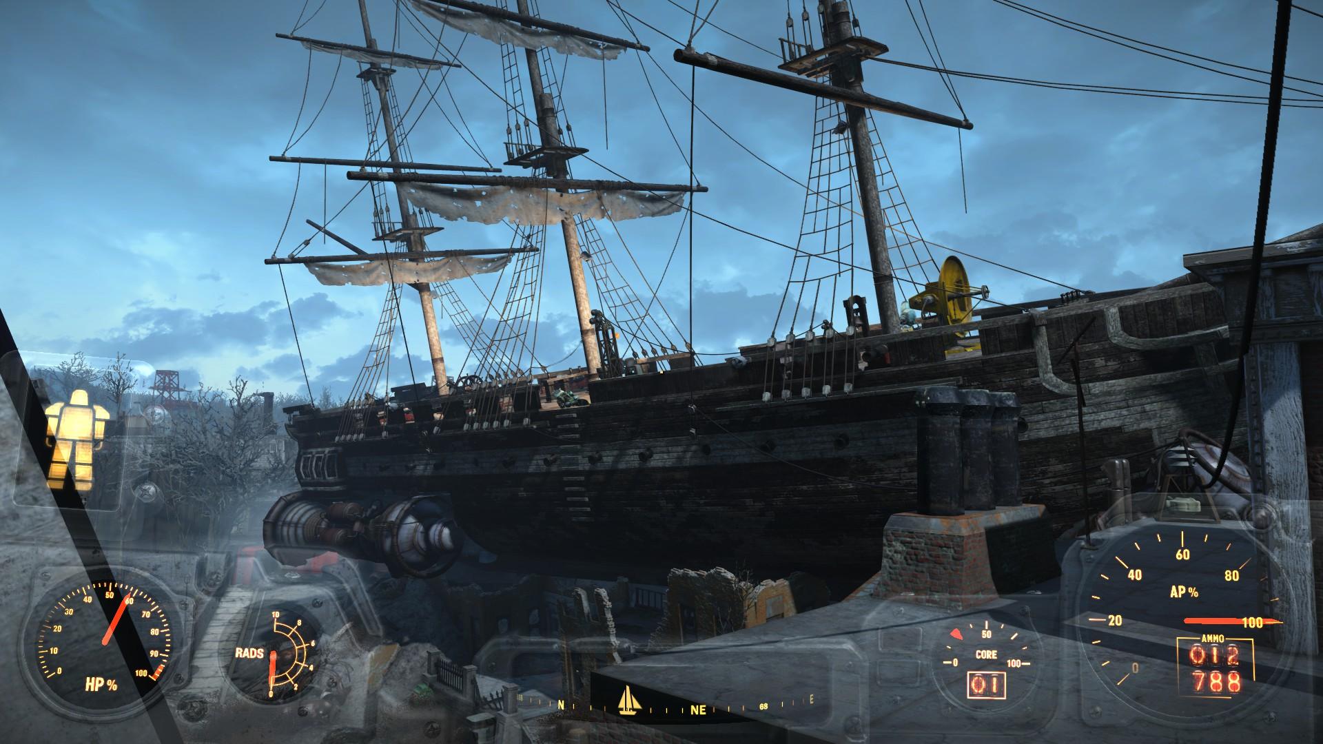 Fallout 4 - Das Roboter Schiff