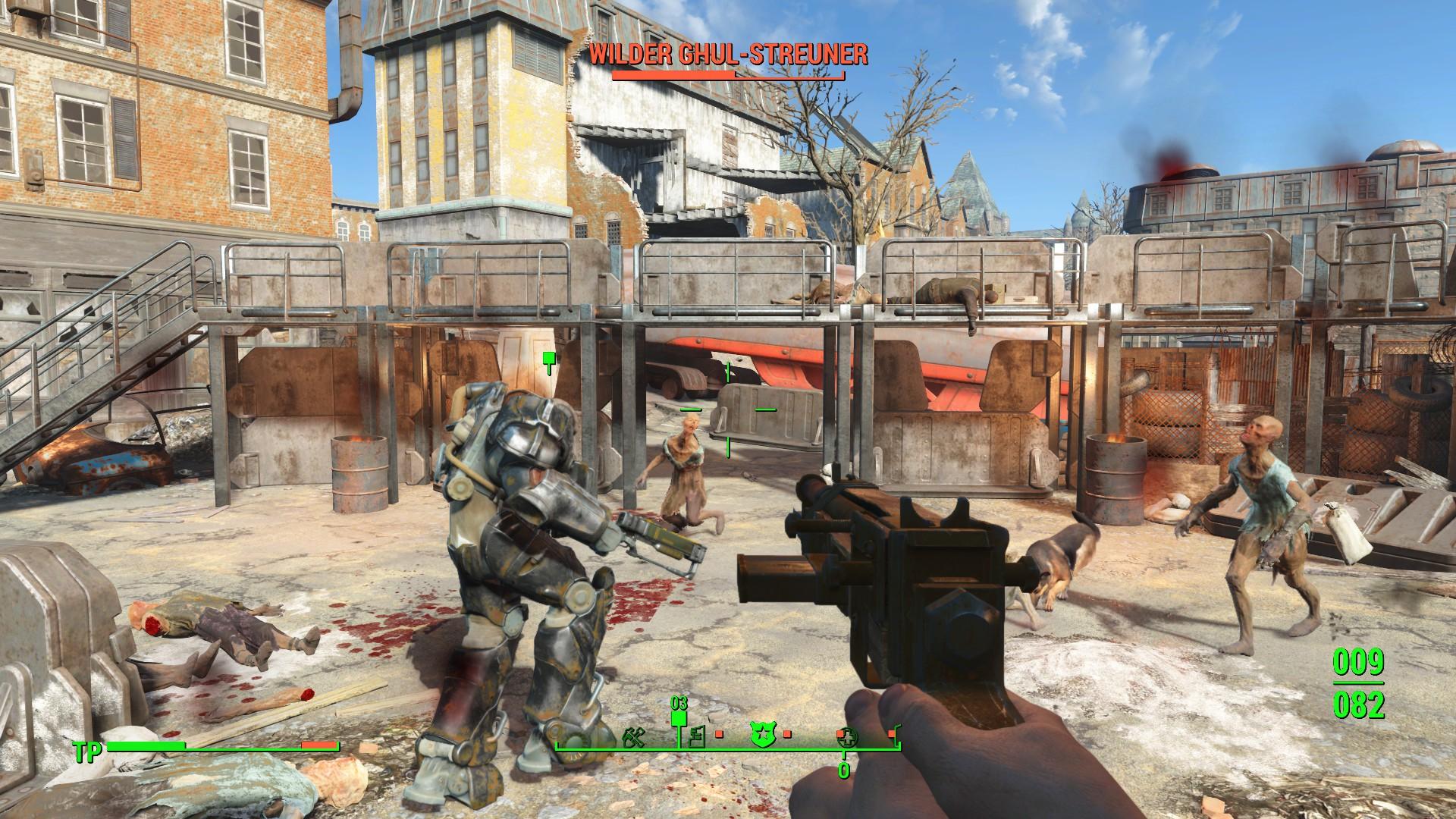Fallout 4 - Kampf gegen die wilden Ghule