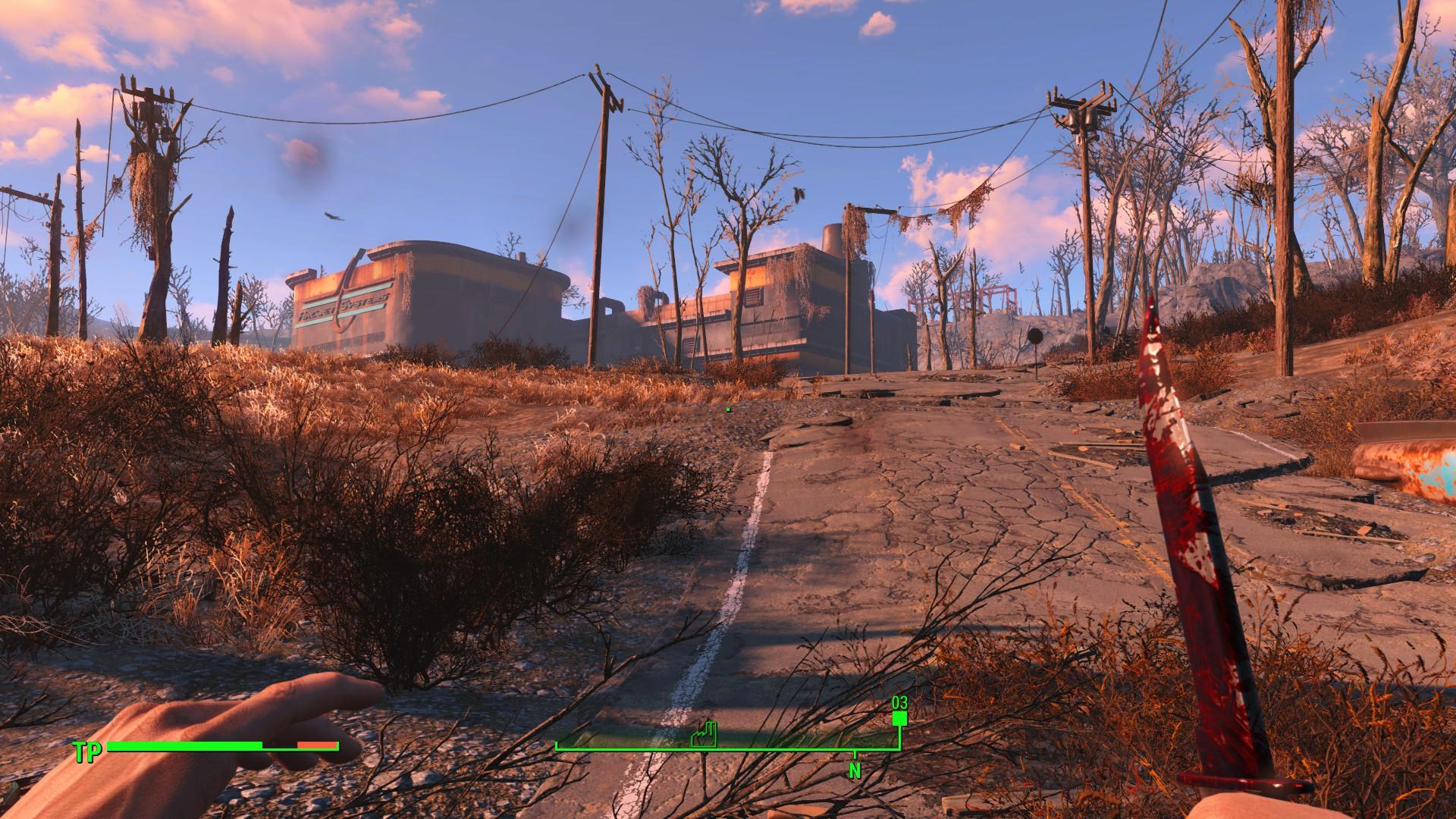 Fallout 4 - Mit dem Messer rennt man nicht