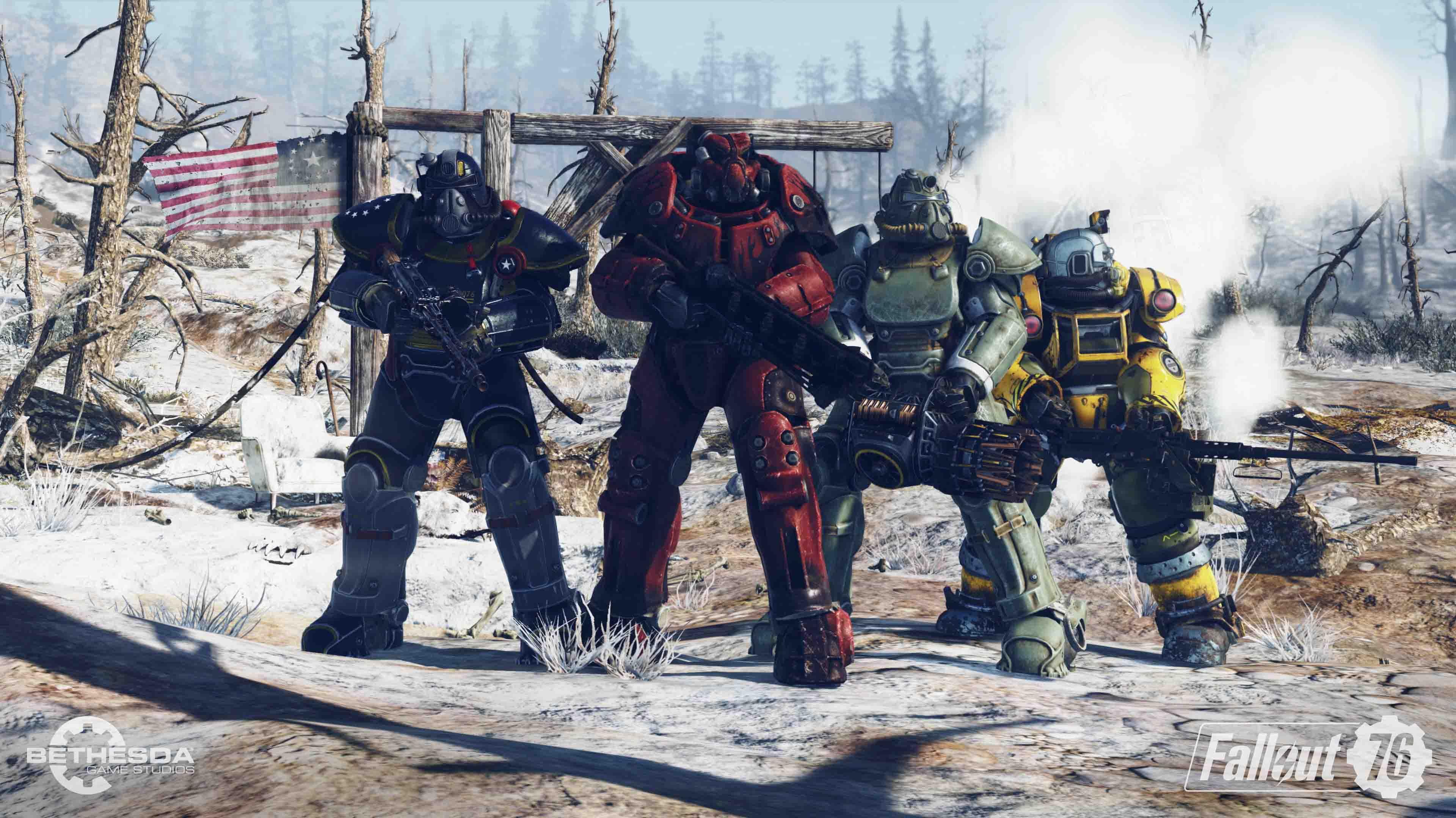 Fallout 76 - Koop Gameplay