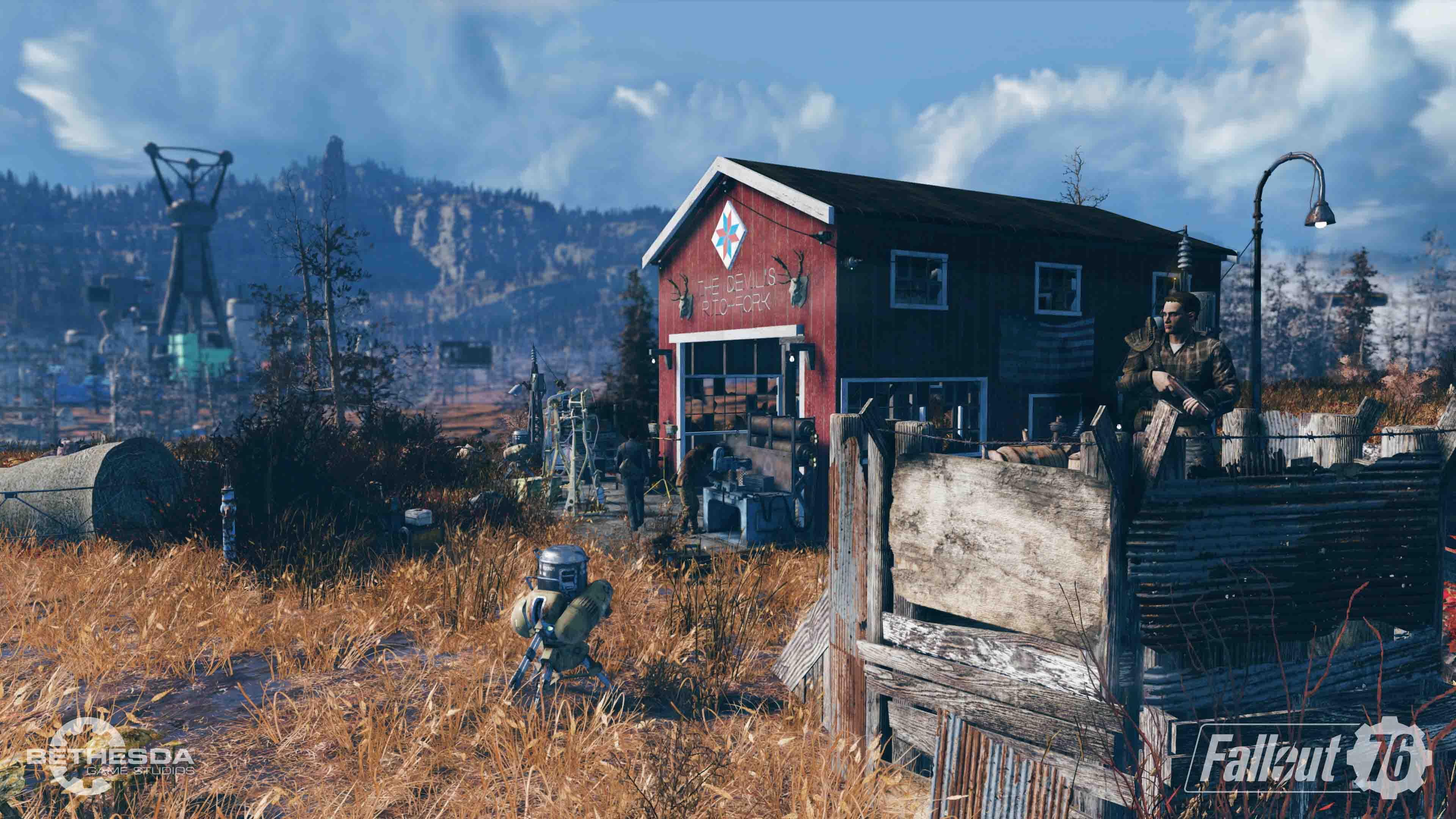 Fallout 76 - Siedlungsbau