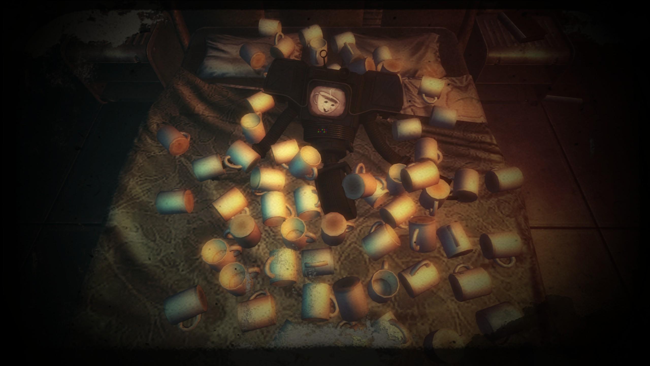 Fallout New Vegas Muggy der Tassen Roboter