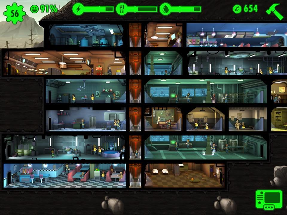 Fallout Shelter - Eine große Vault