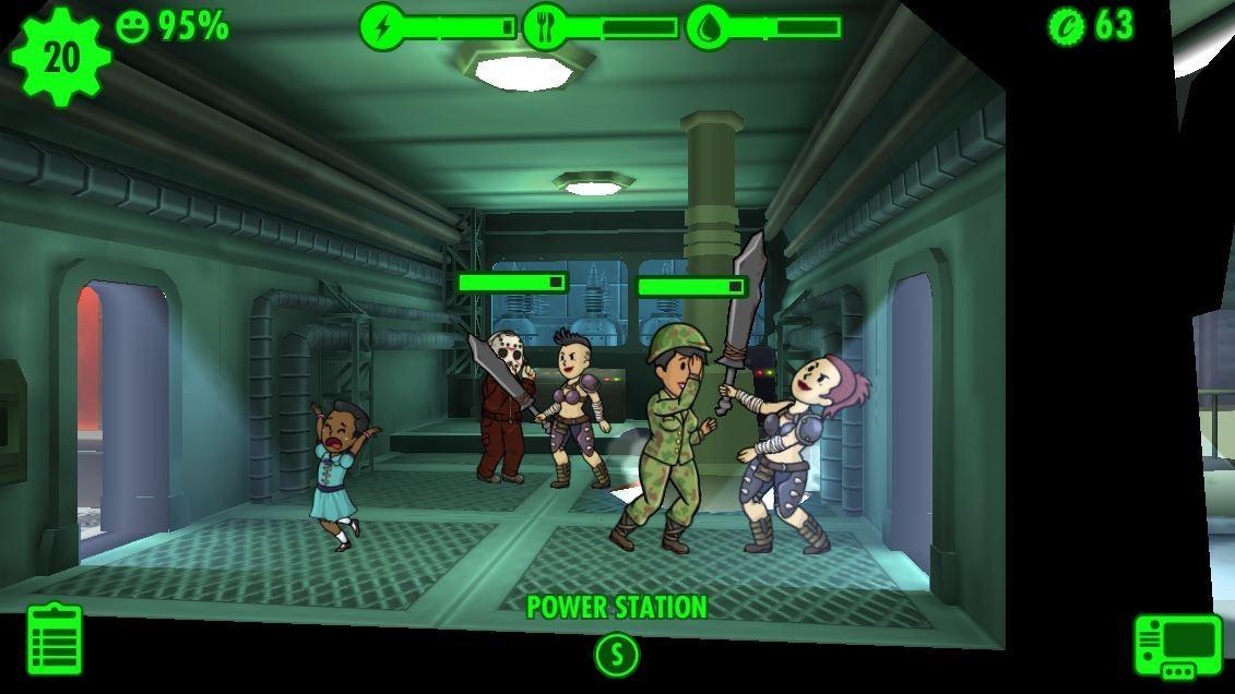 Fallout Shelter - Kampf gegen Raider