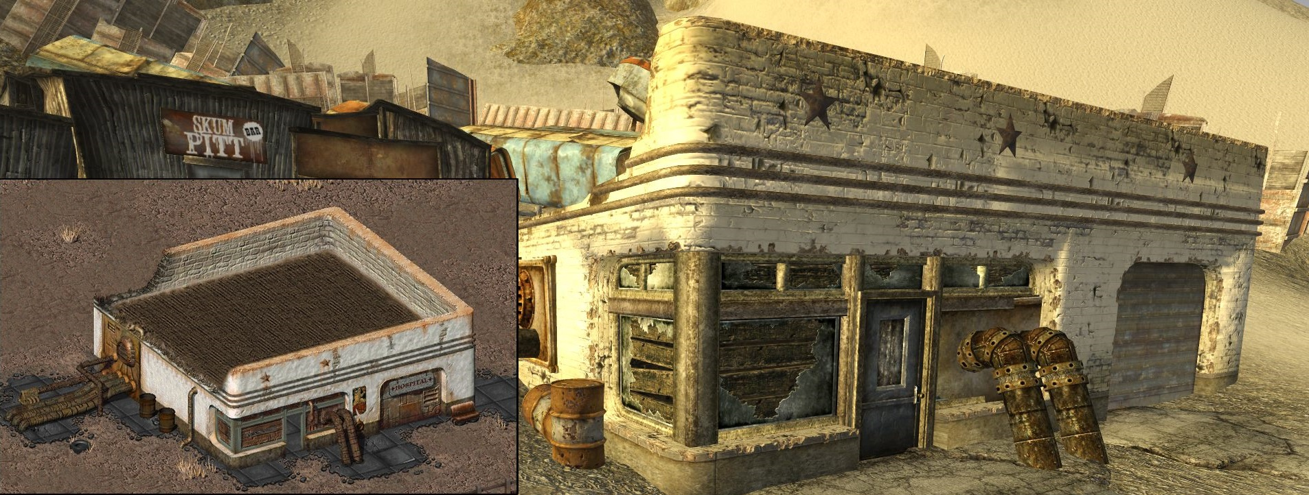 Fallout - The Story - Old and New in one picture