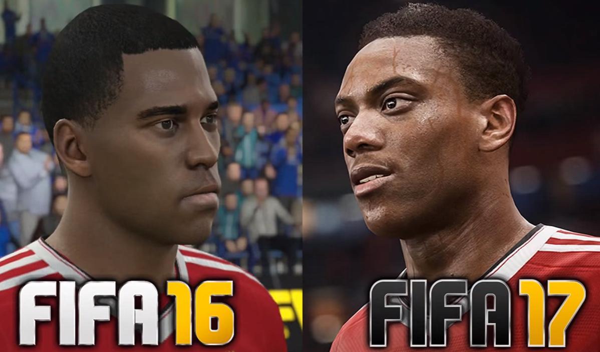 FIFA 16 VS FIFA 17