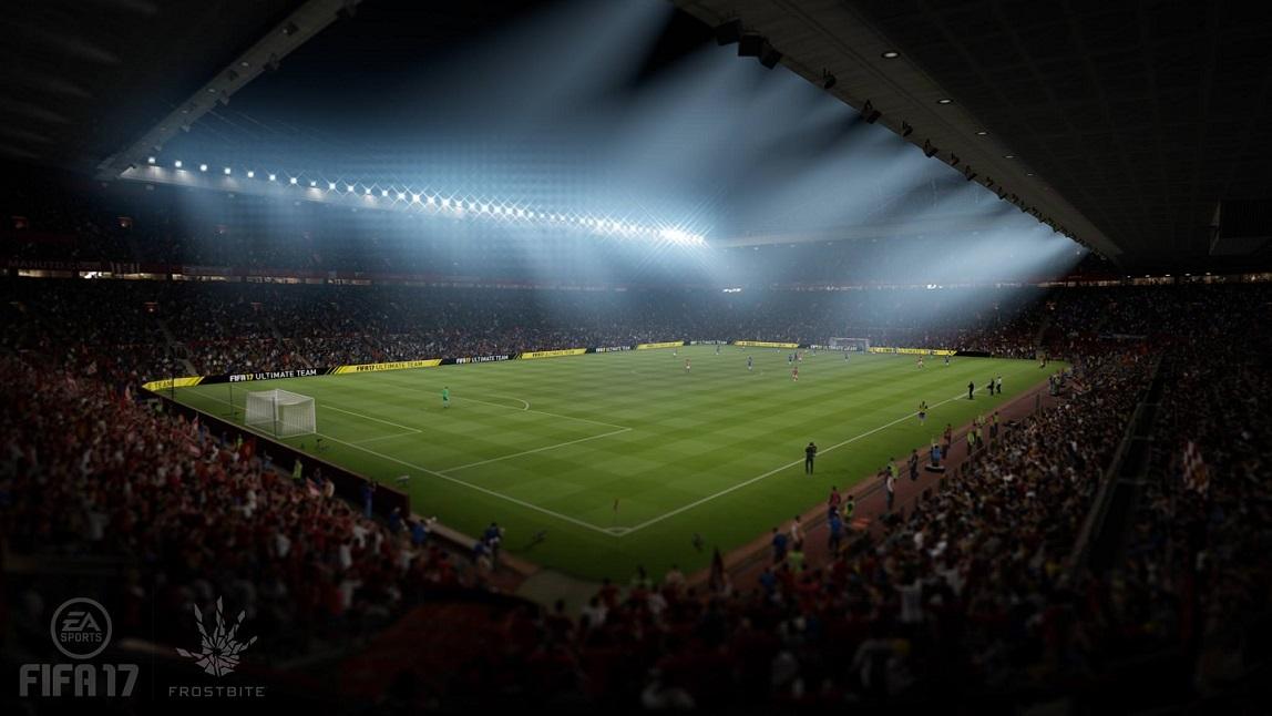 FIFA 17 - Old Trafford Stadion