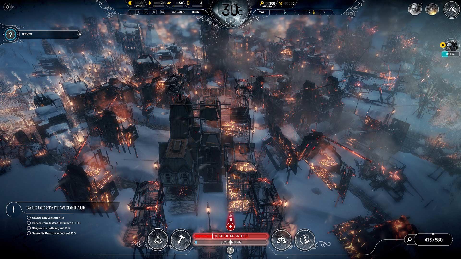 Frostpunk - Der Fall von Winterheim