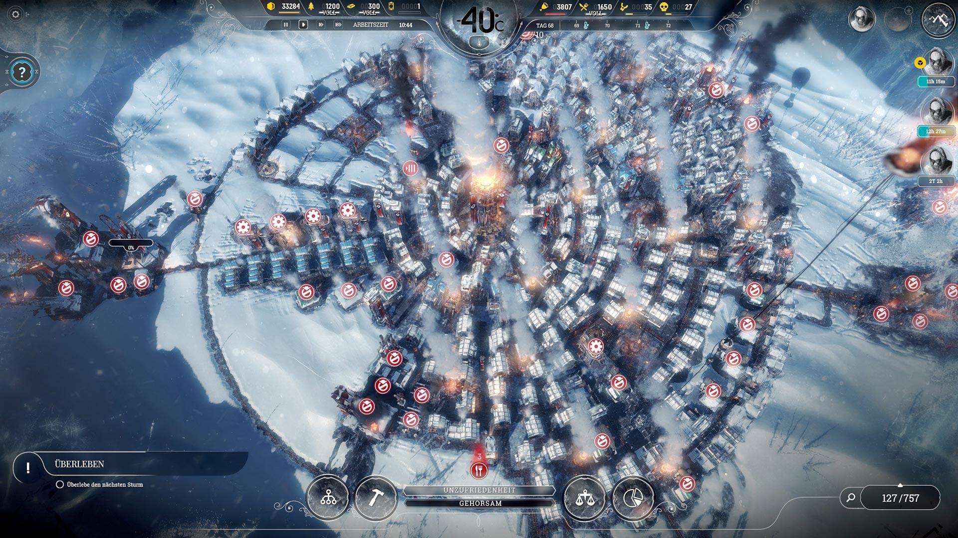 Frostpunk - Große Kolonie im Endlosmodus