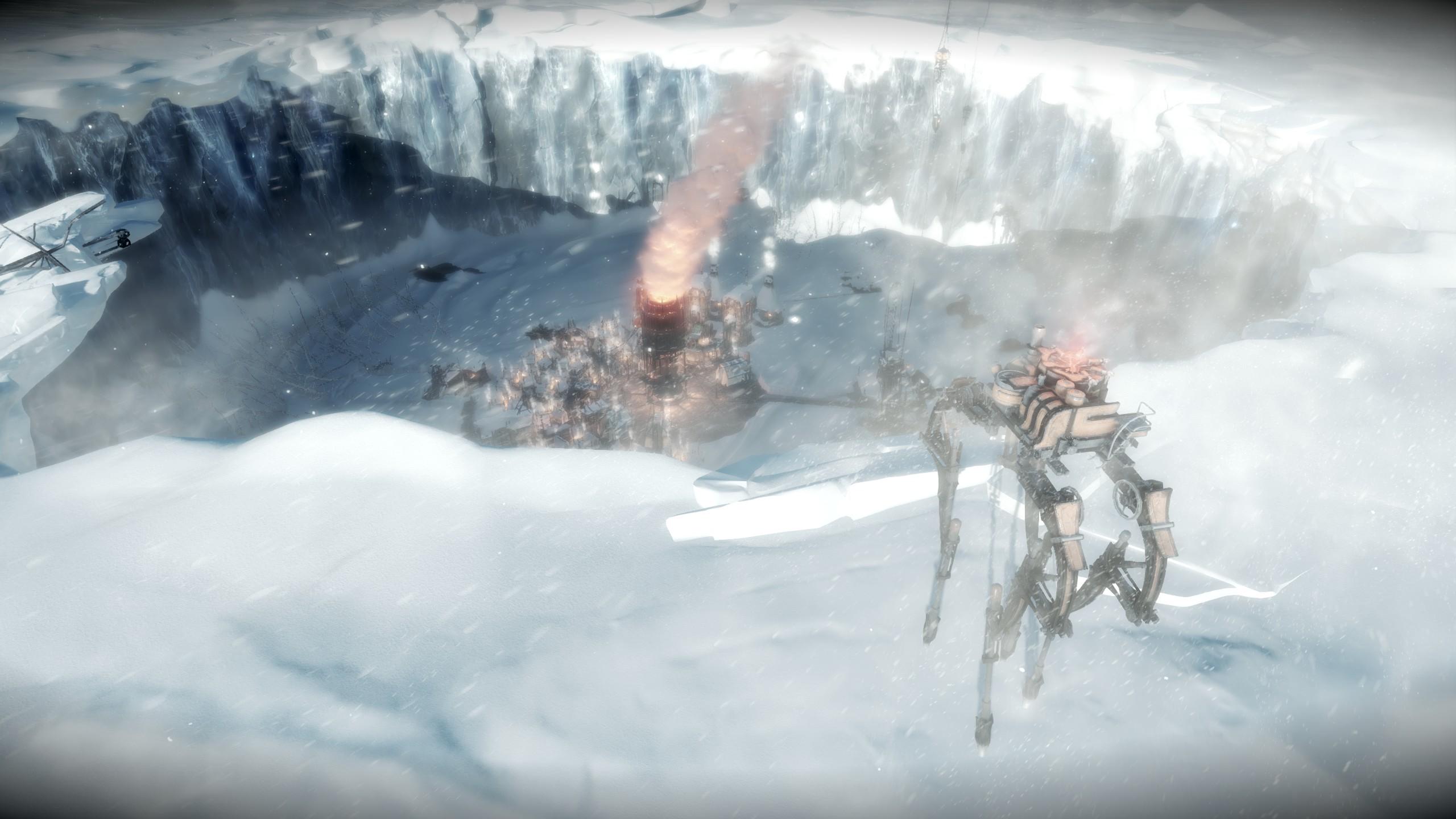 Frostpunk - Automaton erreicht den Krater