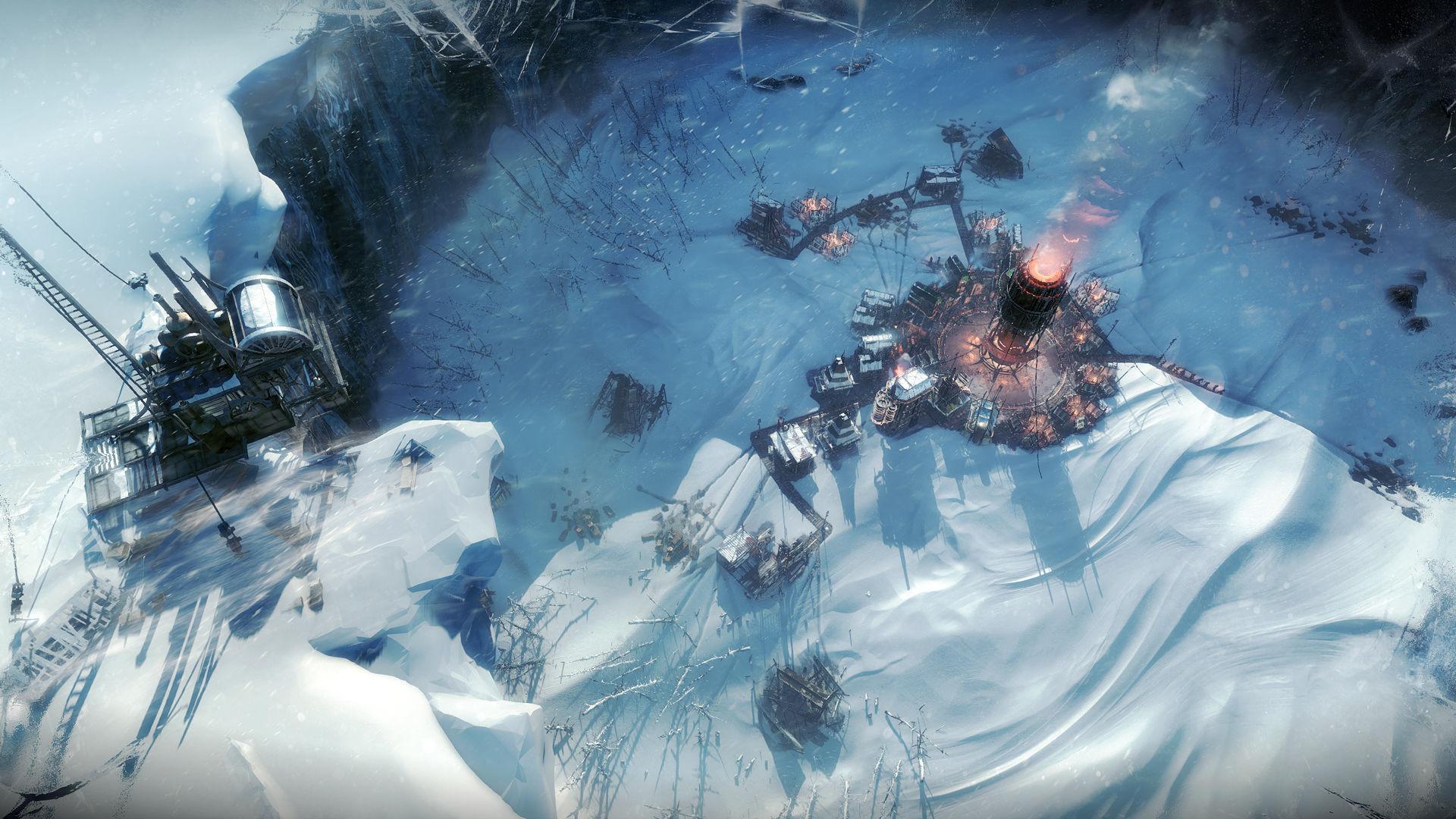 Frostpunk - Eine Stadt im Krater