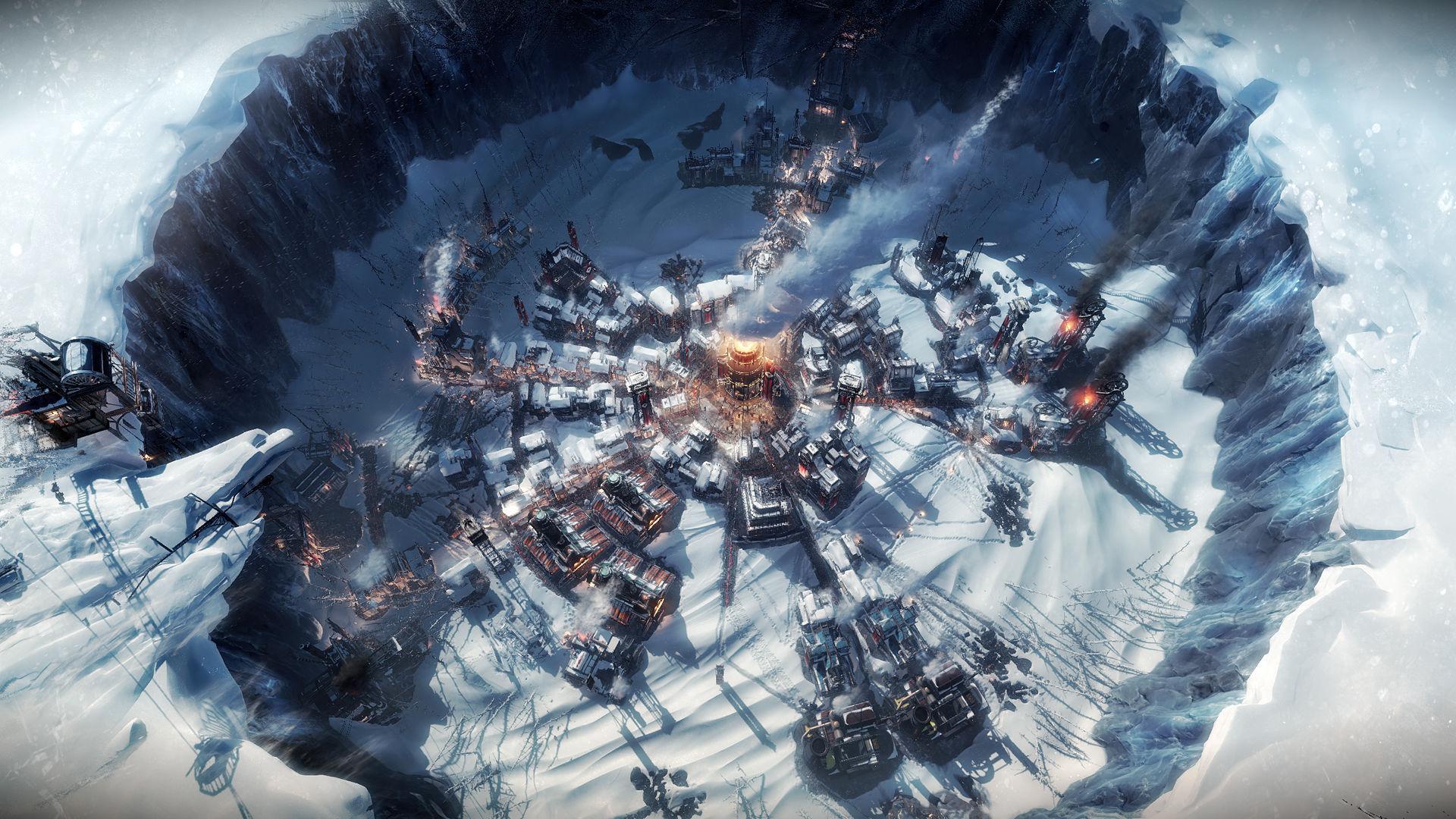 Frostpunk - Eine Stadt um einen Reaktor herum
