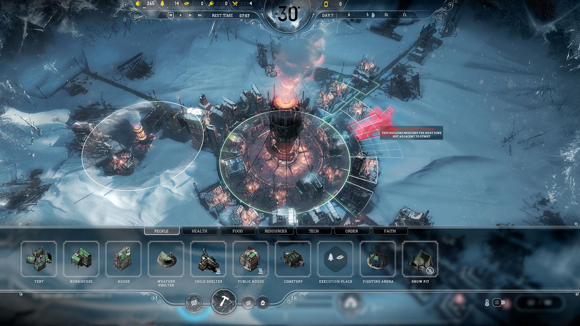 Frostpunk - Städtebau im frostigen Steampunk-Setting