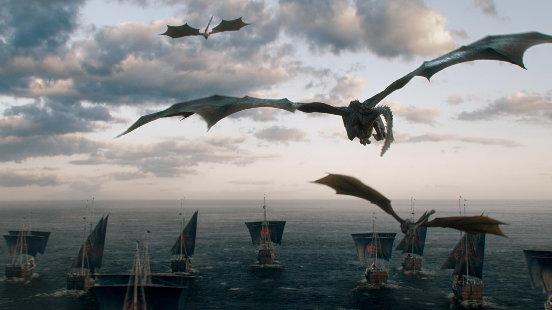 Game of Thrones - Season 7 - Drachen und Schiffe