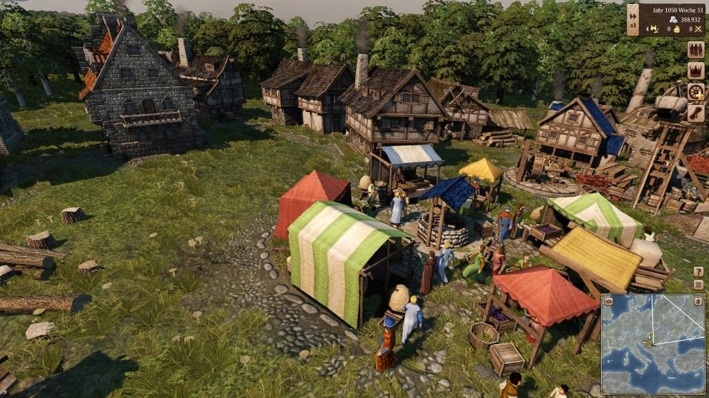 Grand Ages Medieval - Ein Dorf aus nächster Nähe