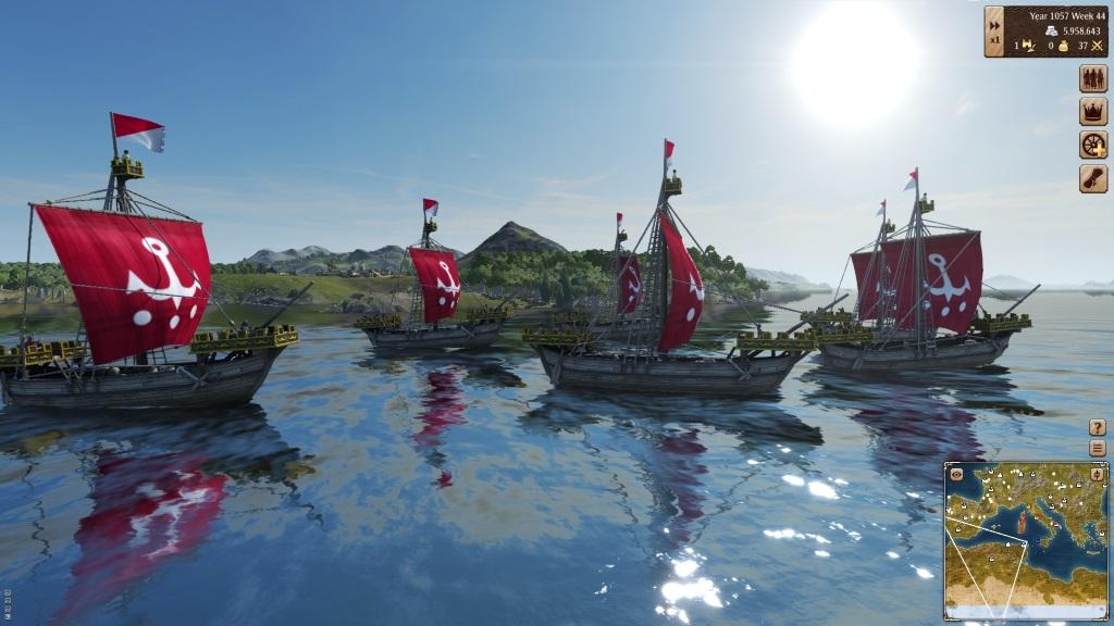 Grand Ages Medieval - Schiffe auf grosser Fahrt
