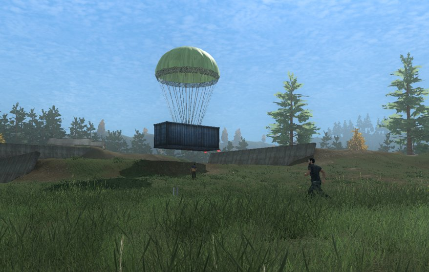 H1Z1 - Airdrop and Pay to win