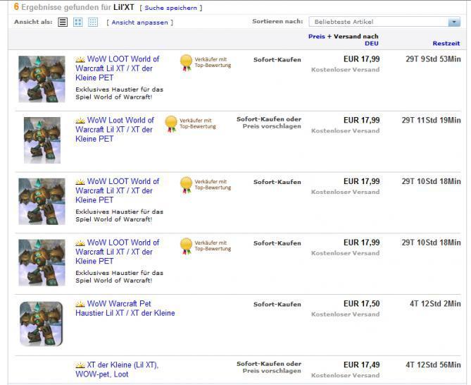 Handel mit Online-Game-Inhalten Was ist zu beachten - Ebay