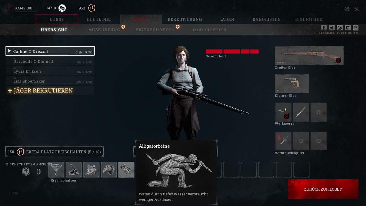 Hunt-Showdown-Einen-Jäger-ausrüsten