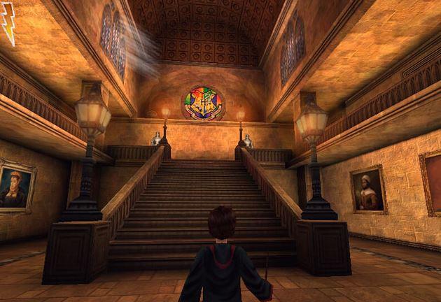 Harry Potter und die Kammer des Schreckens PC Version in Hogwarts