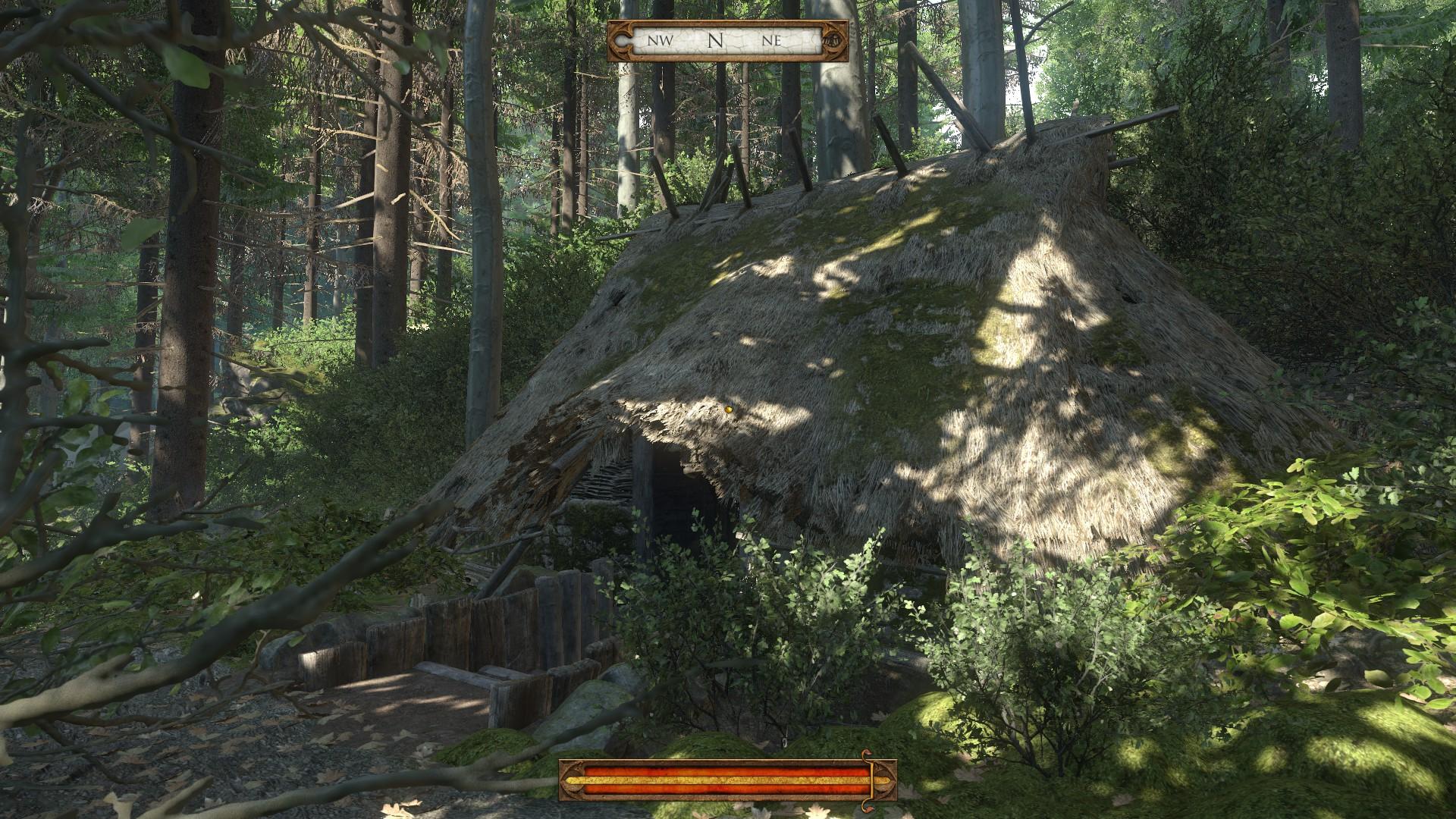 Kingdom Come Deliverance - Hexenhütte im Wald