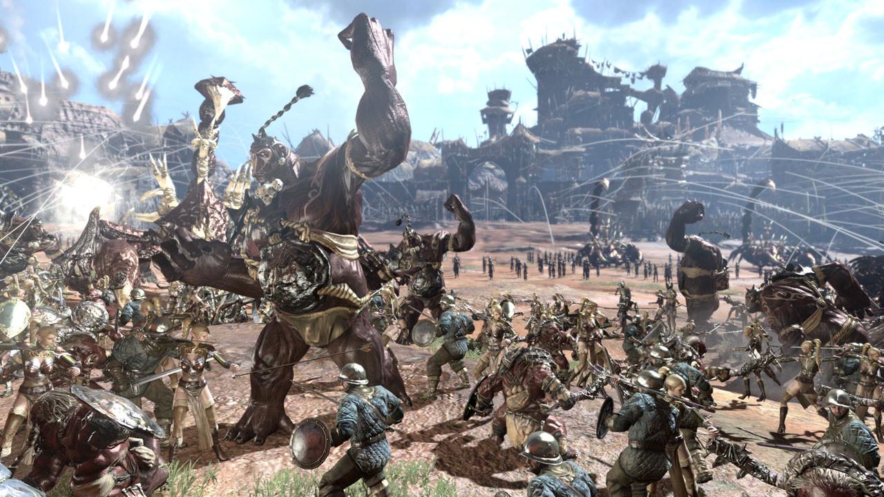 Kingdom Under Fire II Massive Schlacht